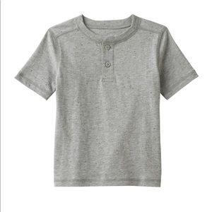 2t toddler half button up NWT